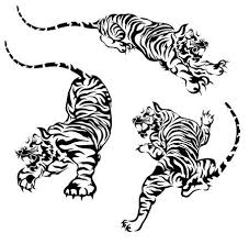 chinese tiger clipart. Contemporary Chinese Tiger Illustration In Chinese Tiger Clipart 123RFcom