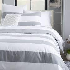 elegant gray and white striped duvet cover 69 about remodel duvet covers with gray and white