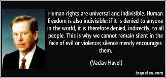 Human Rights Quotes Cool Inspirational Human Rights Quotes By Vaclav Havel Golfian