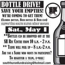 Bottle Drive Flyer Template North Country Lumber Jills Bottle Drive Poster Fundraisers With