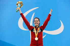 However for aurélie, swimming lessons as a child didn't exactly stir her imagination. Swim Star Aurelie Rivard Named Canada S Flag Bearer For Closing Ceremony Of Paralympic Games The Globe And Mail