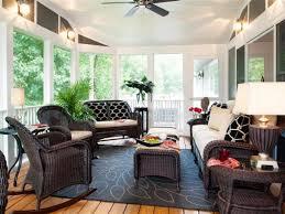 White Small Sunroom Decorating Ideas