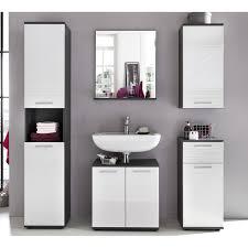Badspiegel Mit Ablage Smart 60 Cm X 71 Cm X 20 Cm Weiß Grau Kaufen