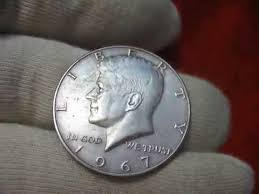1967 Kennedy Half Dollar Value Chart Coin Usa Half Dollar 1967 Liberty Kennedy 40 Silver Composition Value And Prices Numismatics Us