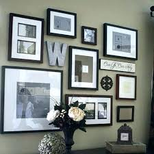 wall collage frames large photo best frame decor ideas on hanging pictures sets wall collage frames