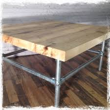 recliamed scaffold board coffee table 245 00