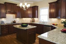 Dark Wood Cabinets Kitchen Kitchen Colors With Dark Wood Cabinets Outofhome
