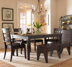 Kitchen Table With Benches Set Dining Room Dining Room Table Bench With Design Interior 26 Big
