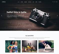 Photography Website Templates New Photography Themes Every