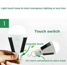 outdoor lighting portable led bulb