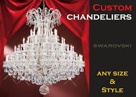 custom chandeliers and custom made crystal chandelier designs