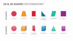 For Powerpoint 2d 3d Shapes For Powerpoint Pslides