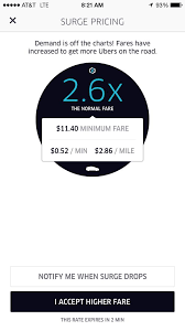 Uber Rate Quote Cool Here's How To Avoid Uber And Lyft Surge Pricing