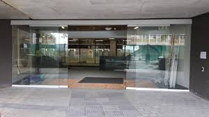 automation of glass doors