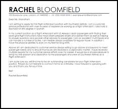 flight attendant cover letters flight attendant cover letter sample cover letter