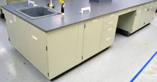 34 fisher hamilton used laboratory furniture island cabinets with counter tops