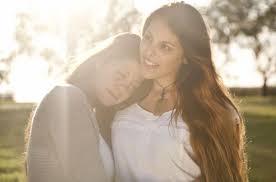 Young passionate lesbian women