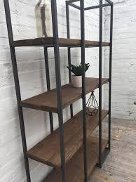 urban industrial furniture. Tower Shelving Unit- Wood \u0026 Steel- Urban- Industrial Reclaimed Style Furniture Urban