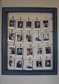 Cool DIY Photo Projects and Craft Ideas for Photos - Frame For Polaroids -  Easy Ideas