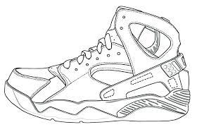 Air Jordan Coloring Pages Tonyshume