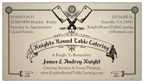 photo of knights round table catering danville va united states a knight