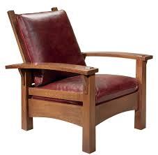 bow arm morris chair image