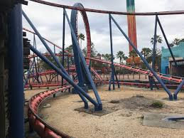 the scorpion roller coaster at busch gardens tampa bay fl