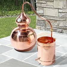essential oils distiller handcrafted copper alembic essential oil fl water distiller essential oil distiller