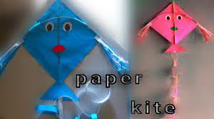 How To Make Designer Kite How To Make Kite For Kids How To Make Beautiful Kites Children Kite Craft Modern Kite Craft