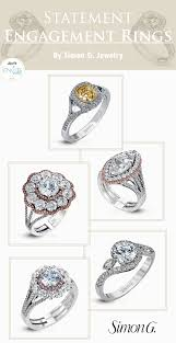 statement enement rings by simon g jewelry