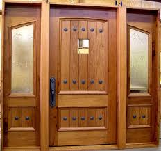custom entry doors with frosted glass side panel