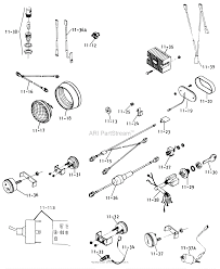 Toro 61 16os01 d 160 automatic tractor 1976 parts diagrams diagram 61 16os01 d 160 automatic