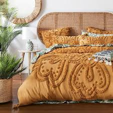 adairs tilly tufted quilt cover