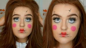 haunted doll makeup tutorial creepy doll halloween makeup sc 1 st you
