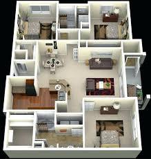4 bedroom house blueprints bedroom home design three 3 bedroom apartment house plans 4 bedroom house