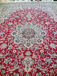 navy blue and red rug collection hand tufted area rug in blue red orange attractive and