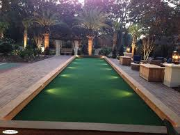 view our complete gallery artificial turf bocce courts