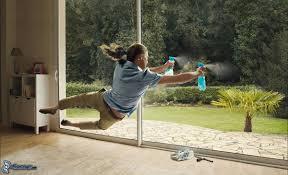 Putzen Der Fenster