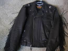 harley davidson fringe mens leather jacket harley fringe jacket 008