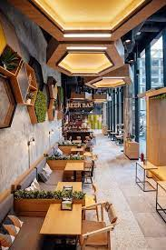 First, always decide a theme for your cafe and decorate the rest of the place with the similar and complementing decors. Restaurant Design Cafe Interior Design Coffee Shops Interior Cafe Decor