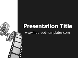Movie Powerpoint Template Movie Ppt Template