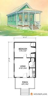 charming tiny cottage plan by marianne cusato 400sft 1