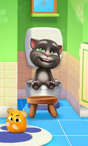 screenshots of the my talking tom 2 game for iphone ipad or ipod