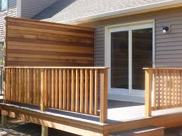 Deck Privacy Wall Designs Brilliant Privacy Walls For Deck Modern Design Models