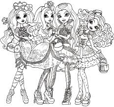 Small Picture Ever After High Coloring Pages GetColoringPagescom