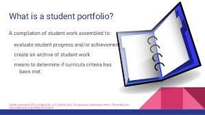 Student Portfolios Google Sites As Student Portfolios
