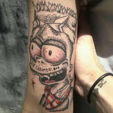 Tattoo Uploaded By Drirleytattoo Tattoo Bart Simpson Estilo Trash