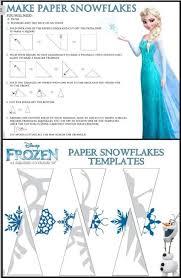 Frozen Snowflake Templates Diy Pinterest Snowflakes Christmas