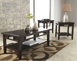 Ashley Furniture Coffee Table With Stools Chairside End Tables