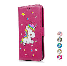 <b>PU Leather</b> Flip <b>Wallet Case</b> with Magnetic Stand Card Holder ID ...